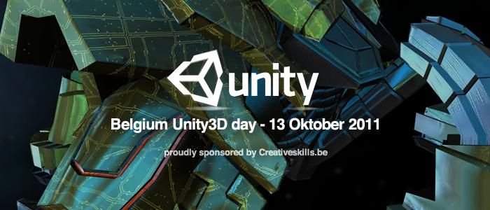 Win een ticket naar de Belgium Unity3D day!