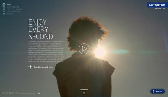 """Saatchi's nieuwe Campagne voor Samsonite """"Enjoy Every Second"""" gaat Live in België"""