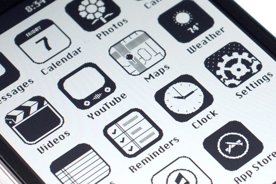 iOS '86: retro interface is hot & happening!