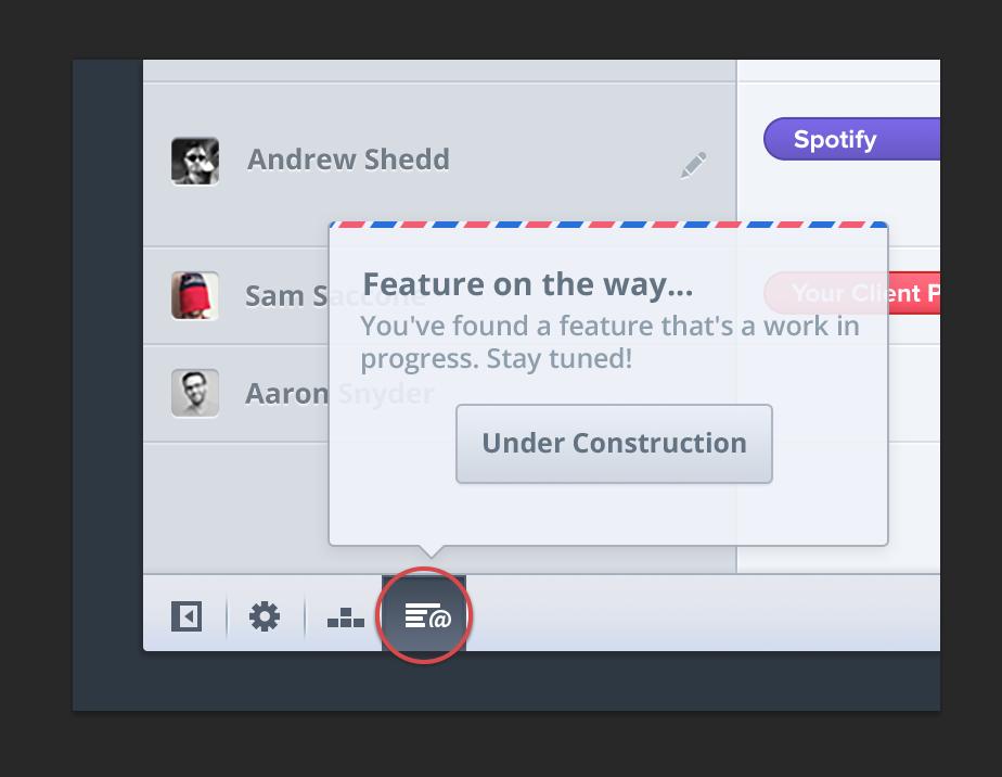 Test je nieuwe features met een knop naar niemandsland