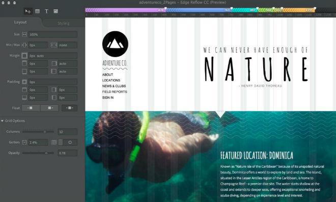 Adobe introduceert nieuwe Generator features voor Photoshop CC en Edge Reflow
