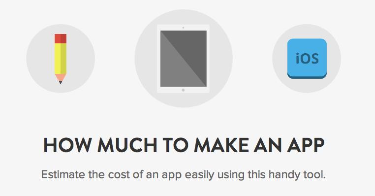 Online tool toont wat jouw app zou kosten