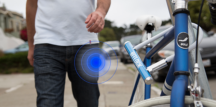 Open je fietsslot met je smartphone!