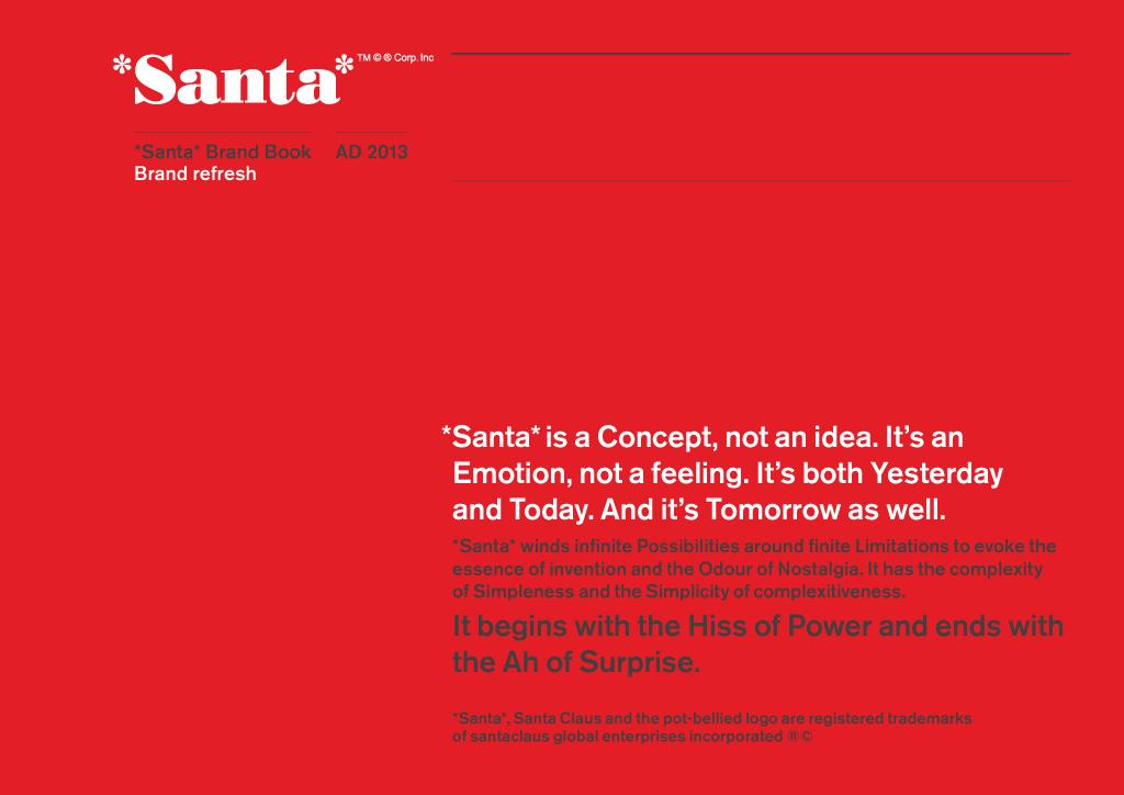 De Kerstman: gewoon een merk zoals een ander